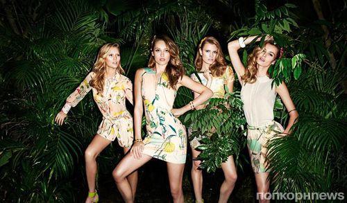 Терри Ричардсон снял рекламную кампанию для H&M Conscious