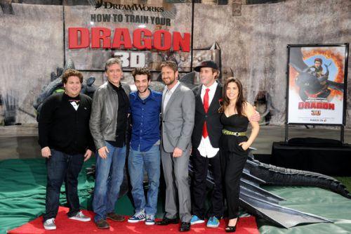 Премьера «Как приручить дракона в 3D» в Лос-Анджелесе