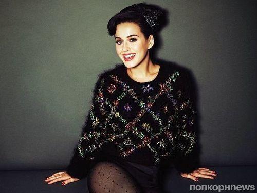 Кэти Перри в журнале Glamour Великобритания. Декабрь 2013
