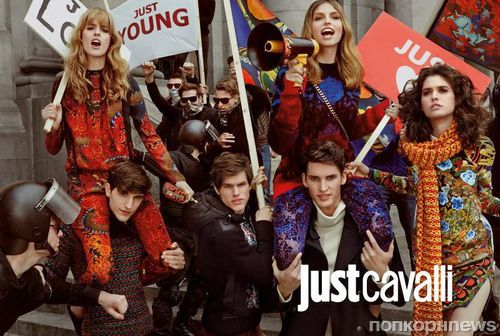 Рекламная кампания Just Cavalli Осень 2013- Зима 2014