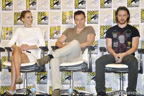 """Пресс-конференция фильма """"Люди Икс: Дни минувшего будущего"""" на Comic-Con"""