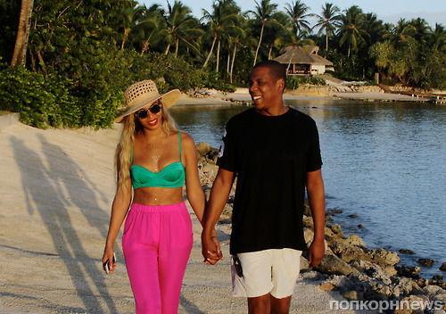 Бейонсе и Jay Z в Доминиканской республике