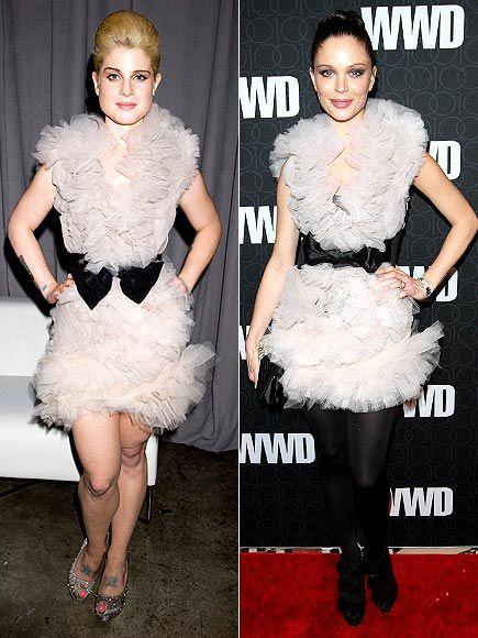Fashion Battle: Келли Осборн и Джорджина Чепмен