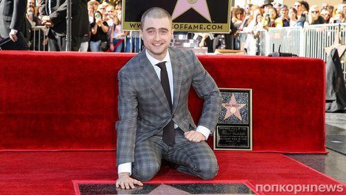 Звезда «Гарри Поттера» Дэниэл Рэдклифф получил звезду на Аллее славы