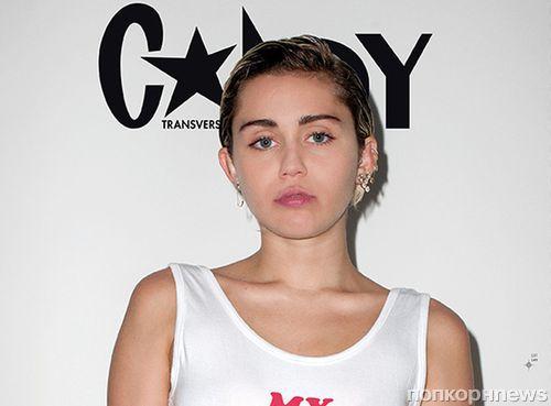 Майли Сайрус снялась полностью обнаженной для обложки Candy Magazine