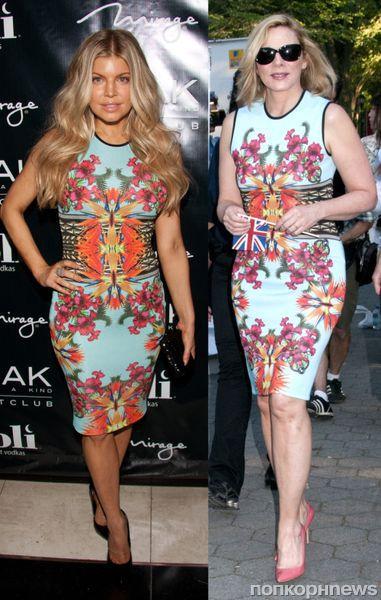 Fashion battle: Ферги и Ким Кэттролл