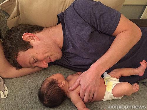 Марк Цукерберг показал  новое фото своей дочери