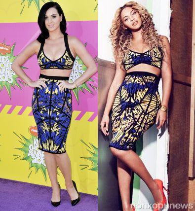 Fashion battle: Кэти Перри и Бейонсе