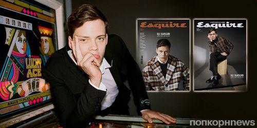 Билл Скарсгард в фотосессии для январского номера Esquire Spain