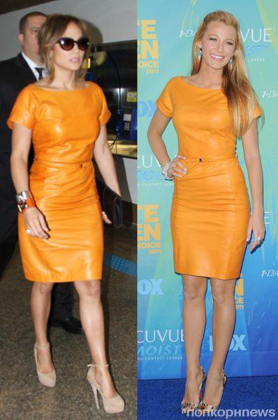 Fashion battle: Дженнифер Лопес и Блэйк Лайвли