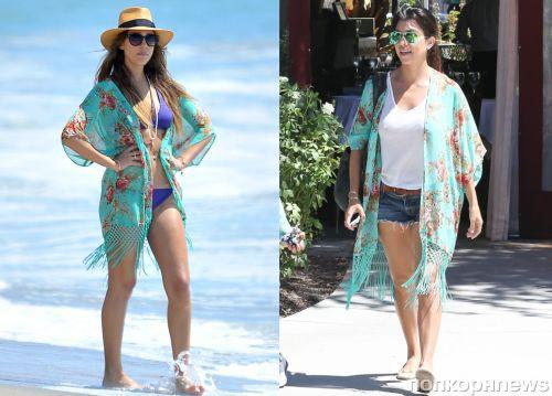 Fashion battle: Джессика Альба и Кортни Кардашян