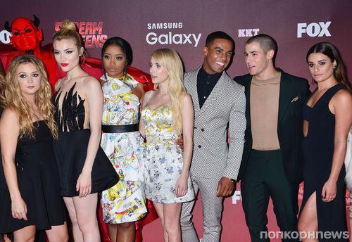 Звезды на премьере сериала «Королевы крика» в Лос-Анджелесе