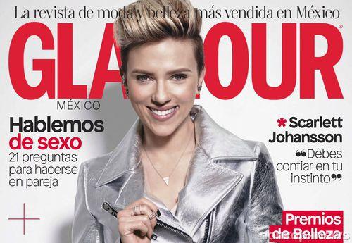 Скарлетт Йоханссон в фотосессии для апрельского Glamour Mexico