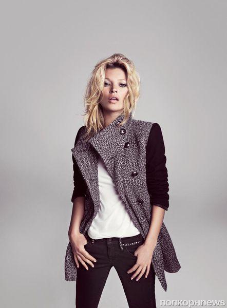 Кейт Мосс в рекламной кампании Mango. Зима 2012-2013