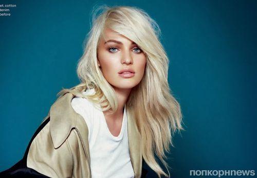 Кэндис Свенпол в журнале Elle Великобритания. Декабрь 2013