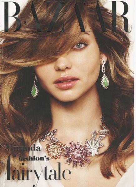 Миранда Керр в журнале Harper's Bazaar. Декабрь 2009