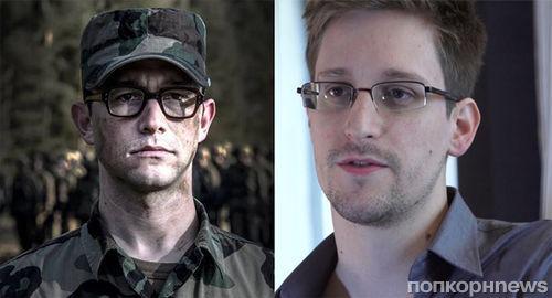Джозеф Гордон-Левит в образе Эдварда Сноудена