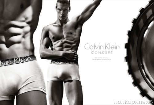 Новая рекламная кампания Calvin Klein Underwear. Весна 2013