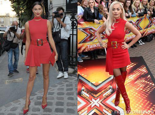 Fashion battle: Ирина Шейк и Рита Ора