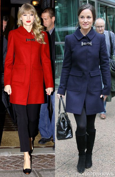 Fashion battle: Тэйлор Свифт и Пиппа Миддлтон