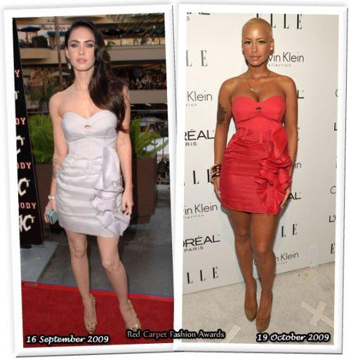 Fashion battle: Меган Фокс и Эмбер Роуз