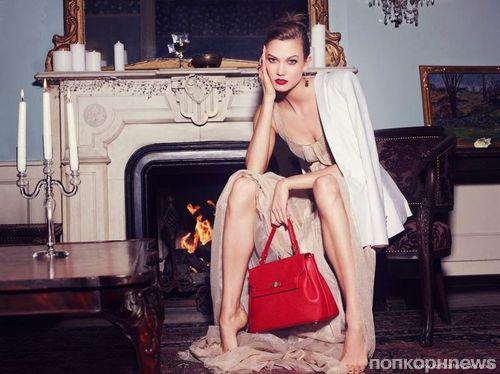 Карли Клосс в рекламной кампании Lancaster. Зима 2014-2015