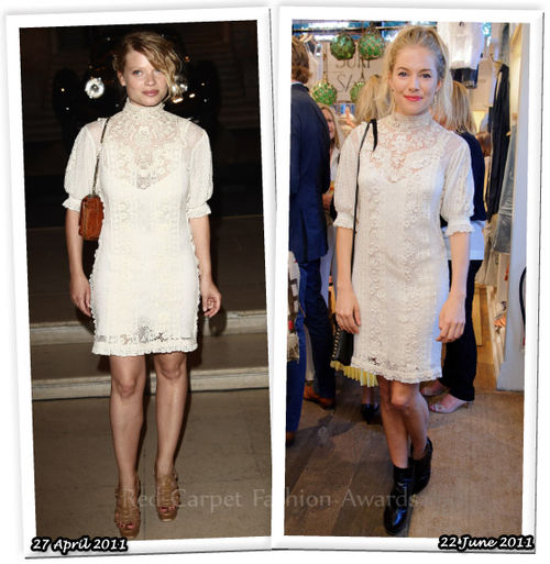Fashion Battle: Мелани Тьерри и Сиенна Миллер