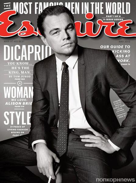 Леонардо Ди Карио в журнале Esquire. Май 2013
