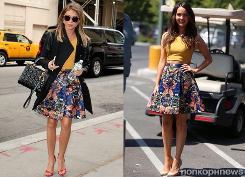 Fashion battle: Сара Хайланд и Камилла Ладдингтон