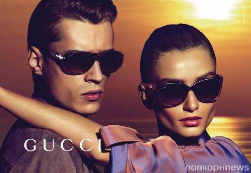 Рекламная кампания новой коллекции Gucci Resort 2014