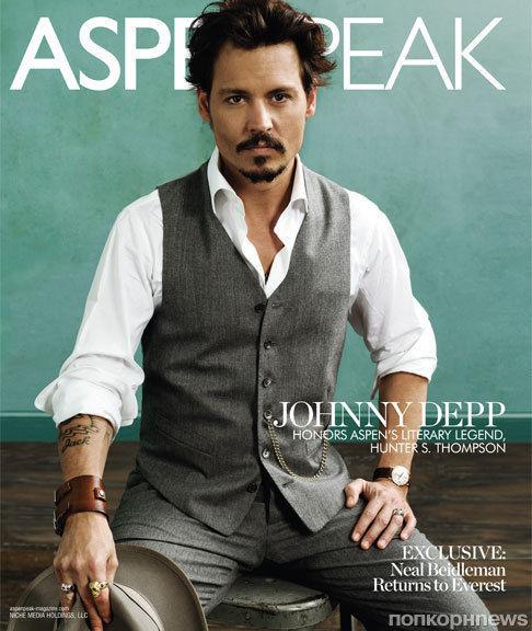 Джонни Депп в журнале Aspen Peak. Зима 2011/Весна 2012