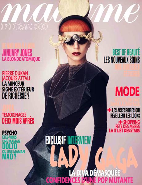 Lady GaGa в журнале Madame Figaro. Июнь 2011