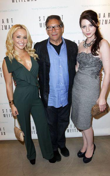 Хейден Панеттьер и Мишель Трахтенберг в бутике Stuart Weitzman в рамках Недели моды в Нью-Йорке