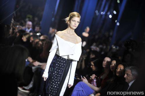 В Париже представили новую коллекцию Christian Dior Couture. Весна / лето 2016