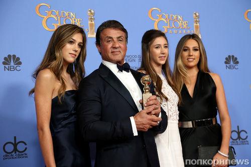 Дочери Сильвестра Сталлоне получат титул «Мисс Золотой глобус 2017»