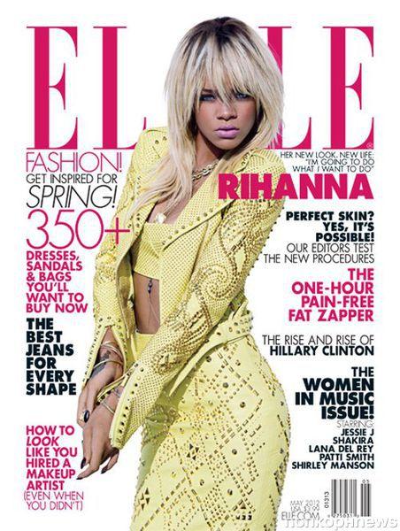 Рианна в журнале Elle. Май 2012