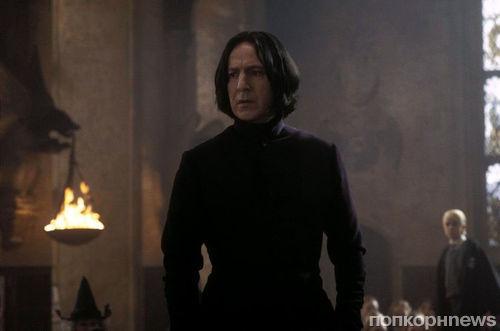 Алан Рикман остался недоволен ролью Северуса Снегга в «Гарри Поттере и Тайной комнате»