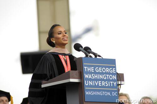 Керри Вашингтон получила почетную докторскую степень