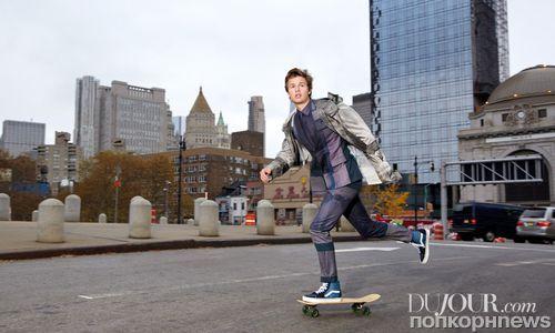 Звезда «Дивергента» Энсел Элгорт в фотосессии для DuJour