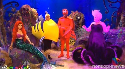 Анна Кендрик на шоу Saturday Night Live