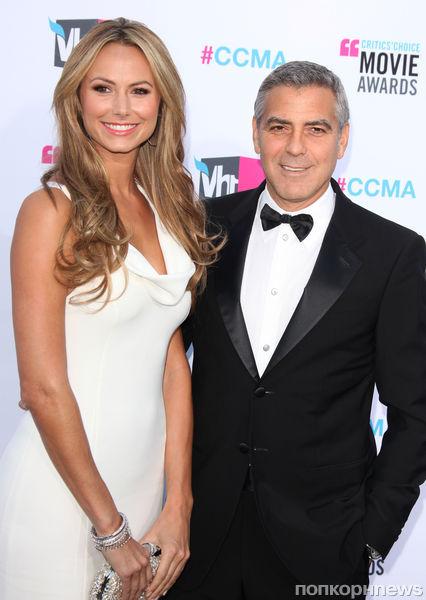 Секрет прекрасной фигуры девушки Джорджа Клуни