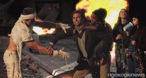 Брэдли Купер, Джессика Честейн и Джуд Лоу в сник-пике фильма Movie: The Movie: 2V