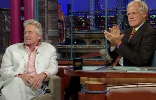 Майкл Дуглас рассказал Дэвиду Леттерману о своей болезни