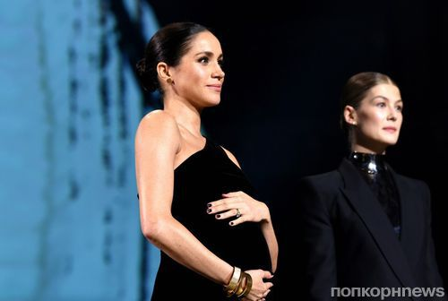 Фото: беременная Меган Маркл вручила награды на церемонии Fashion Awards 2018