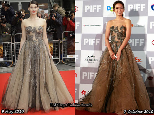 Fashion Battle: Джемма Артертон и Сон Йе Чжин