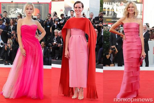 Церемония открытия Венецианского кинофестиваля 2018: звезды на красной дорожке