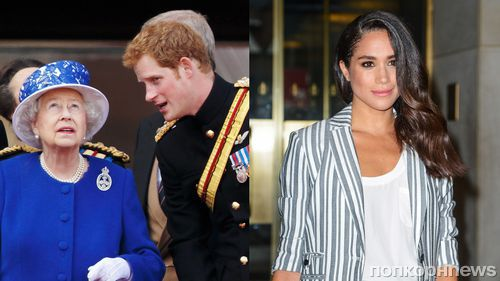 Принц Гарри официально представил Меган Маркл королеве Елизавете