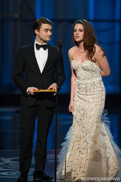 Дэниел Рэдклифф хотел отнести Кристен Стюарт на сцену на руках