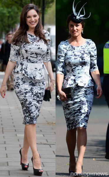 Fashion battle: Келли Брук и Пиппа Миддлтон