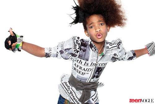 Уиллоу Смит в журнале Teen Vogue